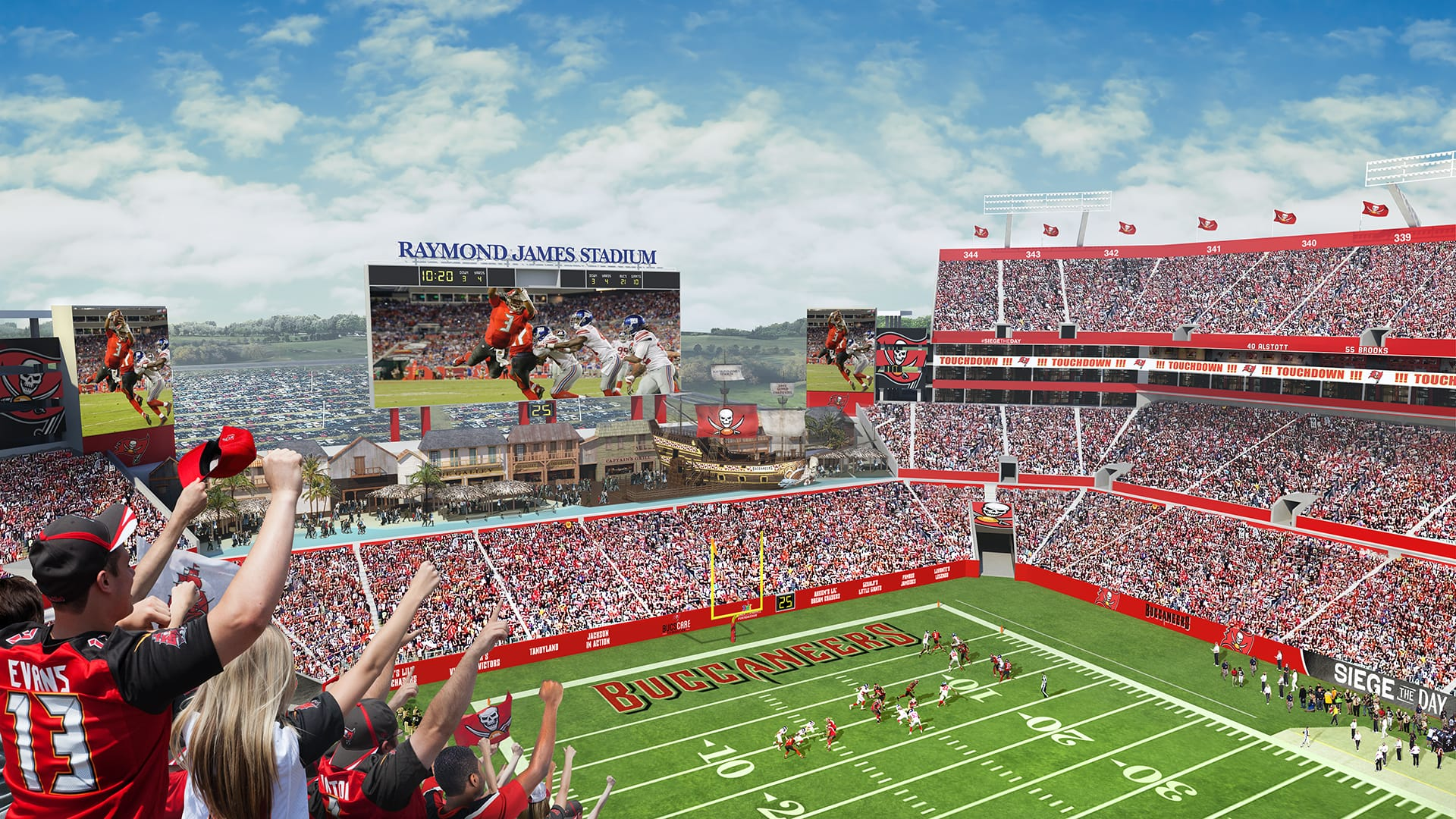 Download Tampa Bay Buccaneers Estadio