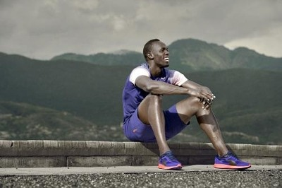 césped Correa Hong Kong  Usain Bolt Customizes His Shoe Lacing While Training With Puma's NETFIT  Technology