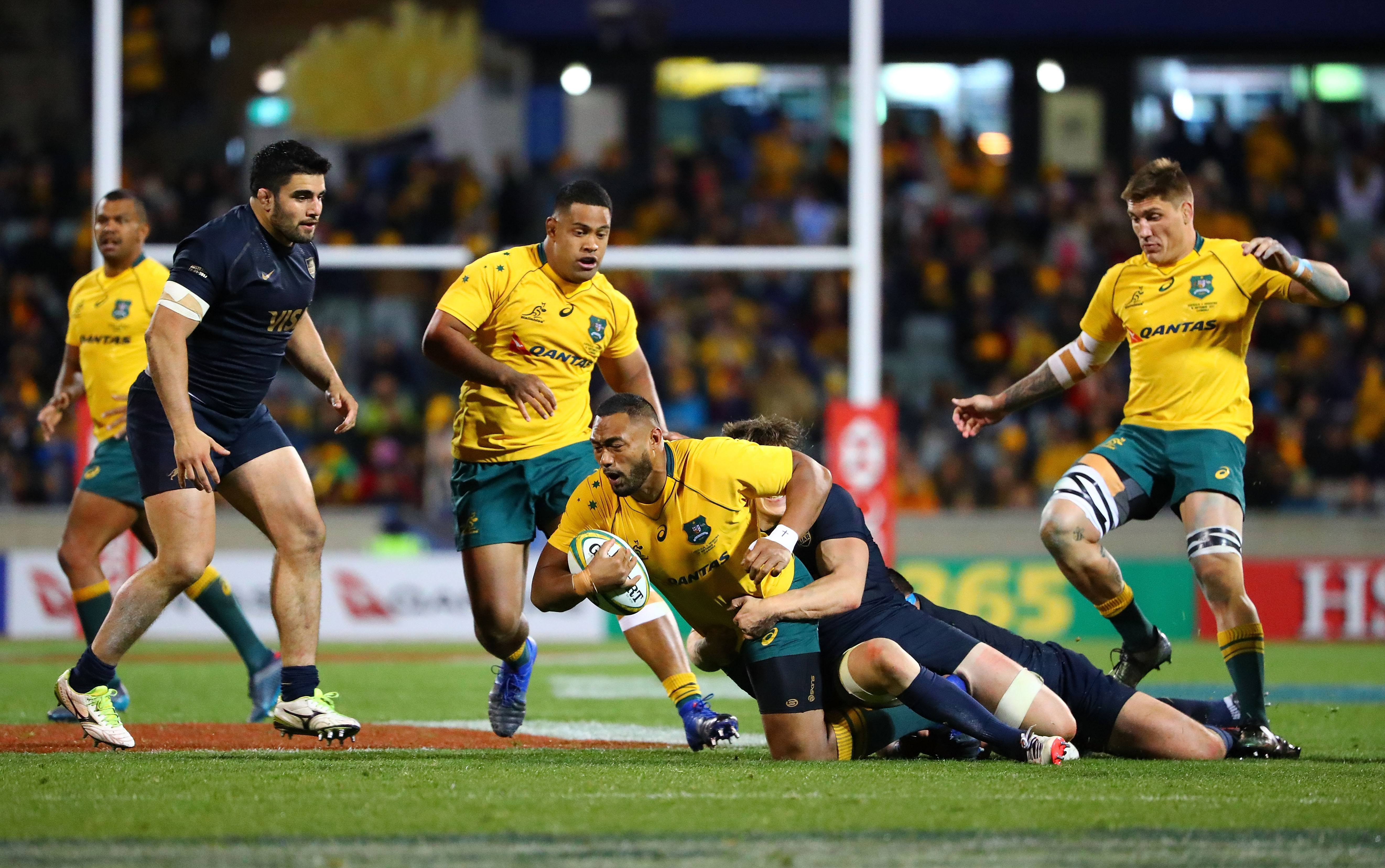 Accenture Provides Qantas Wallabies With Game Changing Performance Stats