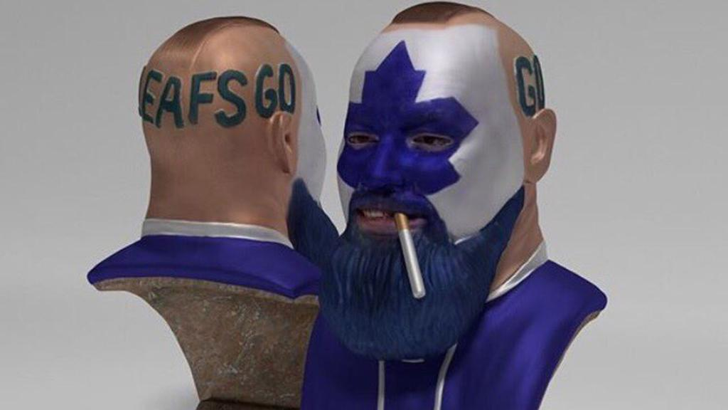 Viral Toronto Maple Leafs Fan Gifts 3d Printed Bust For Good Cause
