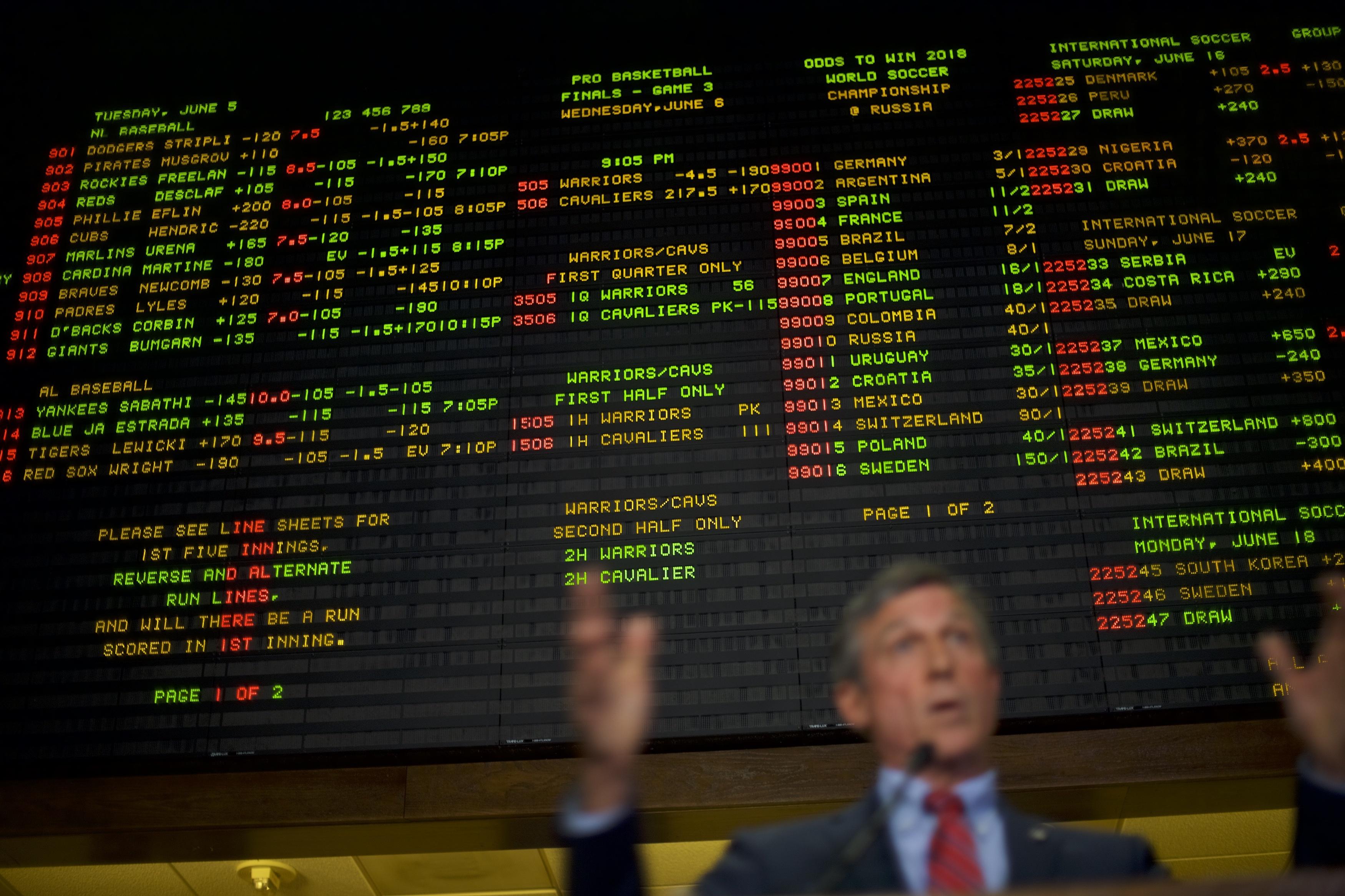 sports betting tech