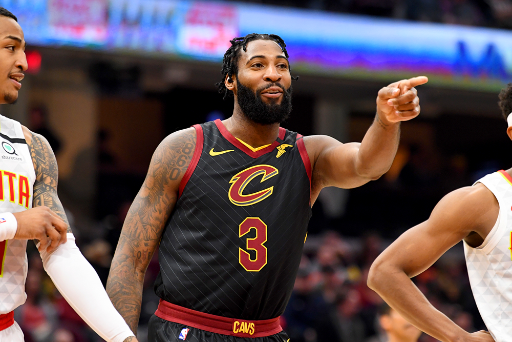 Cleveland Cavaliers center Andre Drummond. (Jason Miller/Getty Images)