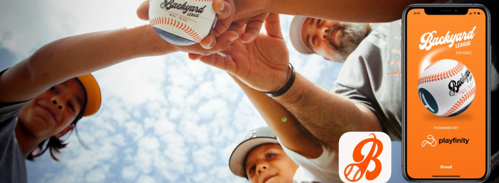 The idea is for Backyard League to turn a game of catch into international youth competition.