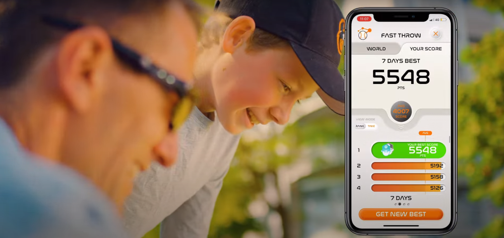 Playfinity's goal is to keep screen-addicted kids engaged on the playing field.