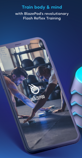 BlazePod targets sports teams, clinics and gyms.