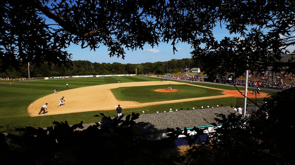 Cape Cod League Baseball in Brewster, Mass. (Maddie Meyer/Getty Images)