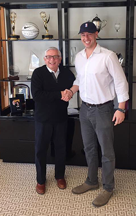 Jordan Fliegel (r.) and David Stern.