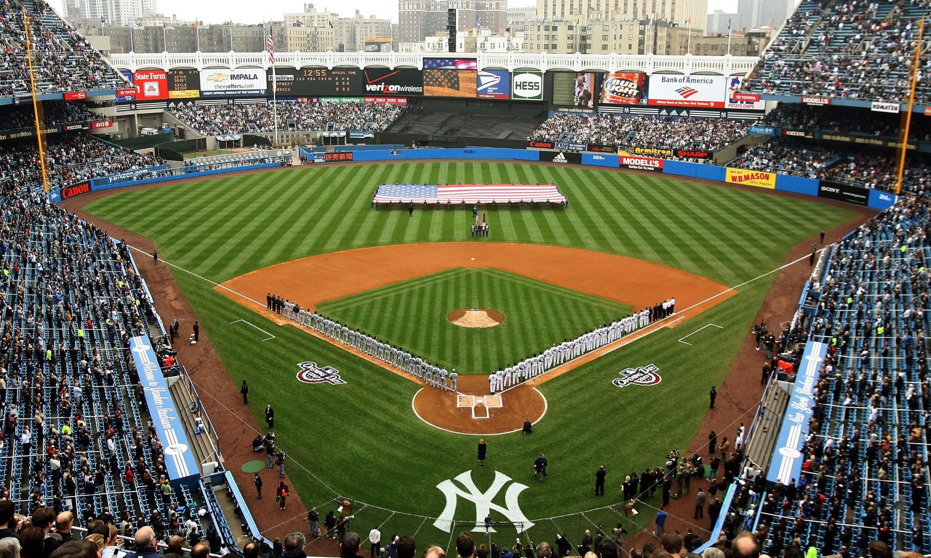 Audion wants cavernous Yankee Stadium to be 'encased in camaraderie.'