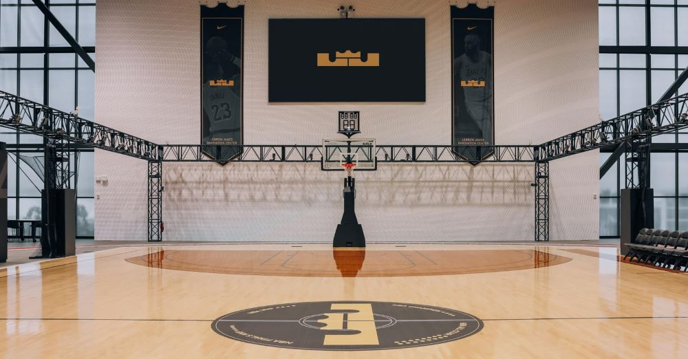 Nike essentially built LeBron James a smartcourt, with motion capture sensors and 400 Vicon cameras.