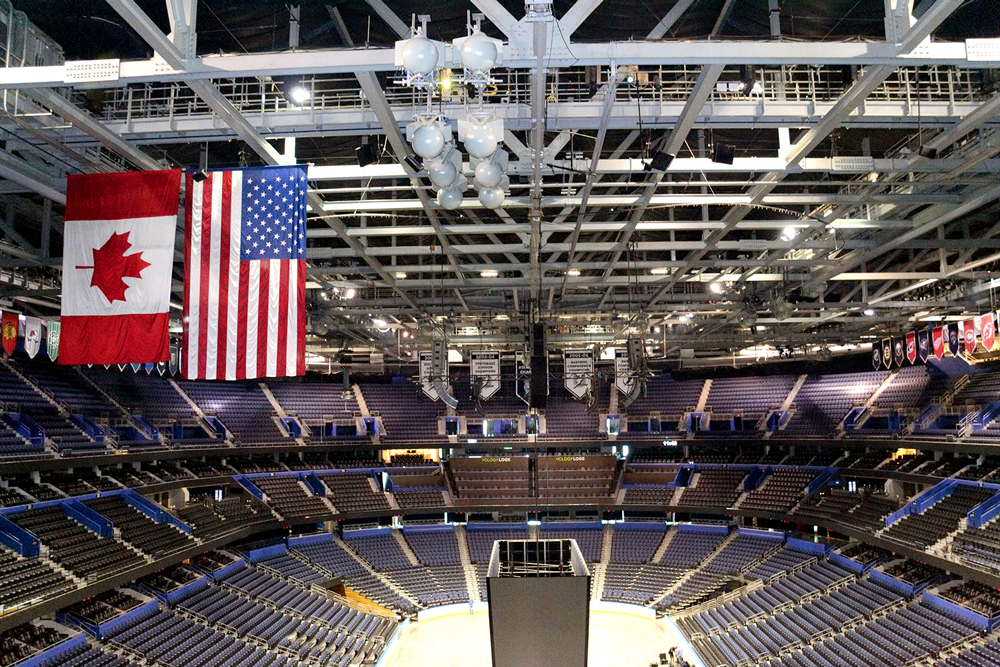 Amalie Arena in Tampa.