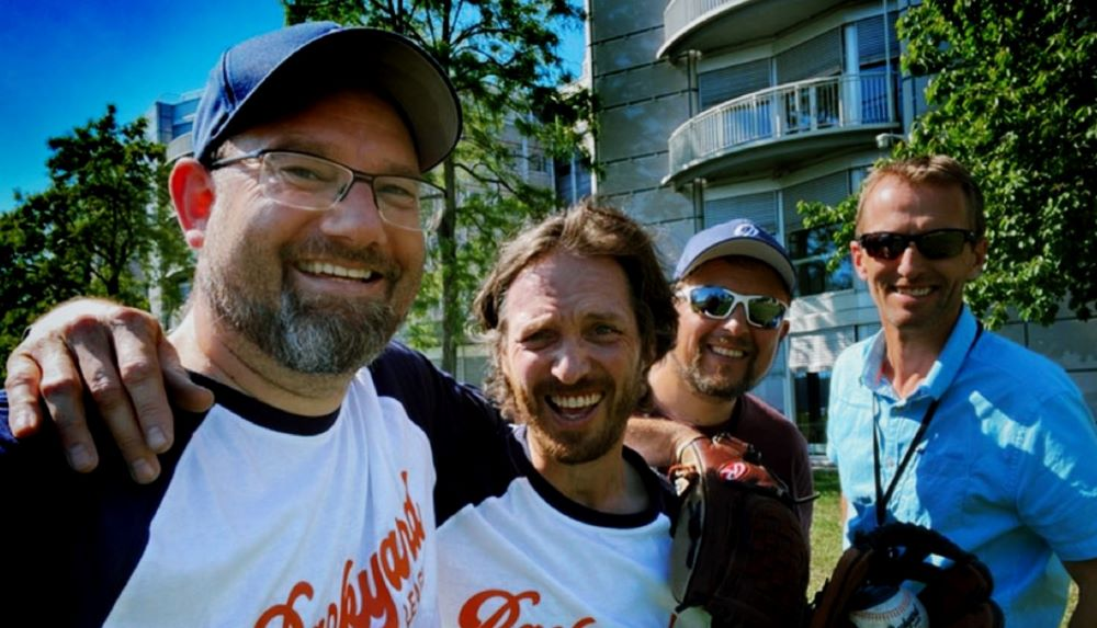 Four Norwegian dads in their 40s brainstormed how to mix technology and baseball to light up kids' faces.