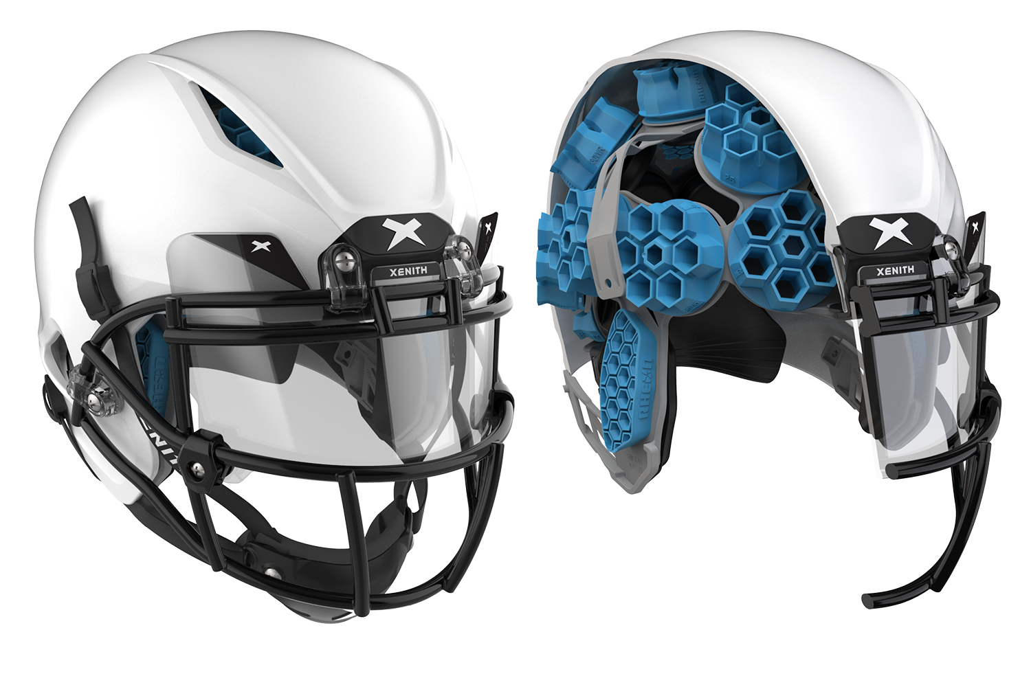 Xenith Unveils Shadow XR, a New Football Helmet Made With U.K. Company Rheon